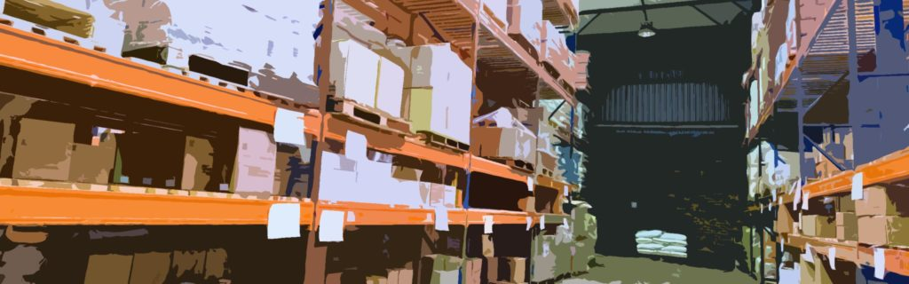 M-ERP Supply Chain Software - Warehouse with Inventory